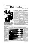New Mexico Daily Lobo, Volume 088, No 113, 3/7/1984 by University of New Mexico