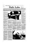 New Mexico Daily Lobo, Volume 088, No 115, 3/9/1984 by University of New Mexico