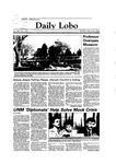 New Mexico Daily Lobo, Volume 088, No 121, 3/26/1984 by University of New Mexico