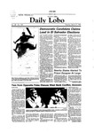New Mexico Daily Lobo, Volume 088, No 122, 3/27/1984 by University of New Mexico
