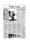 New Mexico Daily Lobo, Volume 088, No 124, 3/29/1984 by University of New Mexico