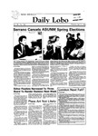 New Mexico Daily Lobo, Volume 088, No 127, 4/3/1984 by University of New Mexico