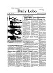 New Mexico Daily Lobo, Volume 088, No 128, 4/4/1984 by University of New Mexico
