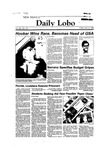 New Mexico Daily Lobo, Volume 088, No 130, 4/6/1984 by University of New Mexico