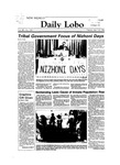 New Mexico Daily Lobo, Volume 088, No 132, 4/10/1984 by University of New Mexico