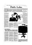 New Mexico Daily Lobo, Volume 088, No 133, 4/11/1984 by University of New Mexico