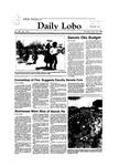 New Mexico Daily Lobo, Volume 088, No 134, 4/12/1984 by University of New Mexico