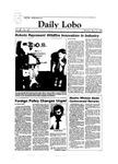 New Mexico Daily Lobo, Volume 088, No 136, 4/16/1984 by University of New Mexico