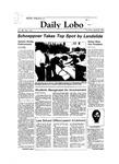 New Mexico Daily Lobo, Volume 088, No 144, 4/26/1984 by University of New Mexico