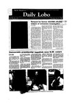 New Mexico Daily Lobo, Volume 088, No 148, 5/31/1984 by University of New Mexico