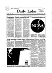 New Mexico Daily Lobo, Volume 088, No 152, 6/28/1984 by University of New Mexico