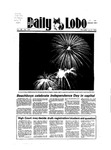 New Mexico Daily Lobo, Volume 088, No 153, 7/5/1984 by University of New Mexico