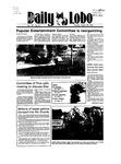New Mexico Daily Lobo, Volume 089, No 8, 8/28/1984 by University of New Mexico