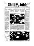 New Mexico Daily Lobo, Volume 089, No 9, 8/29/1984 by University of New Mexico