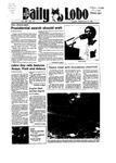 New Mexico Daily Lobo, Volume 089, No 12, 9/4/1984 by University of New Mexico