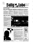 New Mexico Daily Lobo, Volume 089, No 15, 9/7/1984 by University of New Mexico