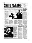 New Mexico Daily Lobo, Volume 089, No 21, 9/17/1984 by University of New Mexico