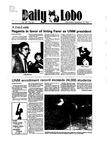 New Mexico Daily Lobo, Volume 089, No 23, 9/19/1984 by University of New Mexico
