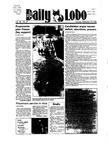 New Mexico Daily Lobo, Volume 089, No 27, 9/25/1984 by University of New Mexico