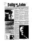 New Mexico Daily Lobo, Volume 089, No 31, 10/1/1984 by University of New Mexico