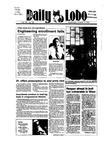New Mexico Daily Lobo, Volume 089, No 33, 10/3/1984 by University of New Mexico