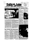 New Mexico Daily Lobo, Volume 089, No 34, 10/4/1984 by University of New Mexico