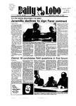 New Mexico Daily Lobo, Volume 089, No 38, 10/10/1984 by University of New Mexico