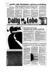 New Mexico Daily Lobo, Volume 089, No 44, 10/18/1984 by University of New Mexico