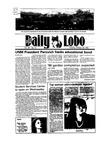 New Mexico Daily Lobo, Volume 089, No 47, 10/23/1984 by University of New Mexico