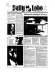 New Mexico Daily Lobo, Volume 089, No 49, 10/25/1984 by University of New Mexico