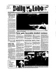 New Mexico Daily Lobo, Volume 089, No 52, 10/30/1984 by University of New Mexico