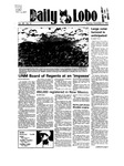 New Mexico Daily Lobo, Volume 089, No 57, 11/6/1984