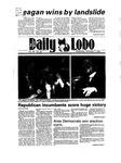 New Mexico Daily Lobo, Volume 089, No 58, 11/7/1984 by University of New Mexico