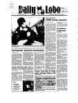 New Mexico Daily Lobo, Volume 089, No 59, 11/8/1984 by University of New Mexico