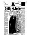New Mexico Daily Lobo, Volume 089, No 60, 11/9/1984 by University of New Mexico