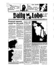 New Mexico Daily Lobo, Volume 089, No 61, 11/12/1984
