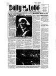 New Mexico Daily Lobo, Volume 089, No 63, 11/15/1984 by University of New Mexico