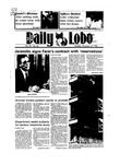 New Mexico Daily Lobo, Volume 089, No 65, 11/19/1984