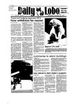 New Mexico Daily Lobo, Volume 089, No 70, 11/28/1984 by University of New Mexico