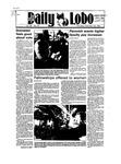 New Mexico Daily Lobo, Volume 089, No 71, 11/29/1984 by University of New Mexico