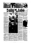 New Mexico Daily Lobo, Volume 089, No 74, 12/10/1984 by University of New Mexico