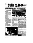 New Mexico Daily Lobo, Volume 089, No 98, 2/12/1985
