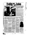 New Mexico Daily Lobo, Volume 089, No 115, 3/8/1985 by University of New Mexico