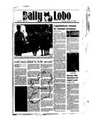 New Mexico Daily Lobo, Volume 089, No 116, 3/18/1985 by University of New Mexico