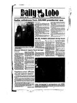 New Mexico Daily Lobo, Volume 089, No 122, 3/26/1985 by University of New Mexico