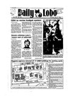 New Mexico Daily Lobo, Volume 089, No 129, 4/4/1985