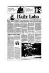 New Mexico Daily Lobo, Volume 090, No 1, 8/19/1985