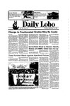 New Mexico Daily Lobo, Volume 090, No 16, 9/16/1985