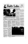 New Mexico Daily Lobo, Volume 090, No 18, 9/18/1985