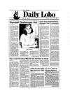 New Mexico Daily Lobo, Volume 090, No 47, 10/29/1985